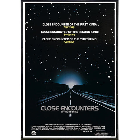 Close Encounters Film Poster Print