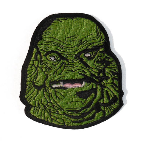 Creature Embroidered Patch - Falstaff Trading / Nerd culture, Horror, B-movies, cult classic - uniquely cool / falstafftrading.com