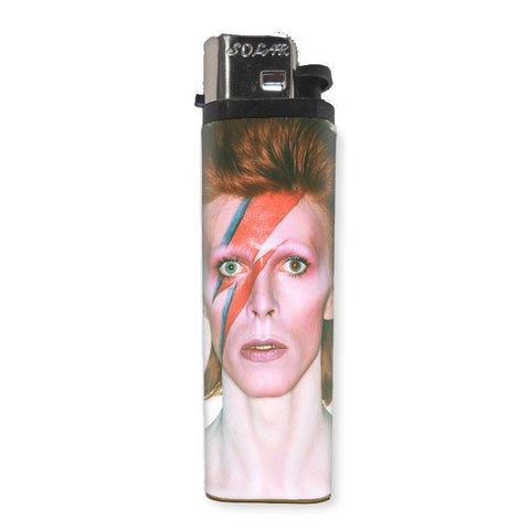 David Bowie Lighter - Falstaff Trading / Nerd culture, Horror, B-movies, cult classic - uniquely cool / falstafftrading.com