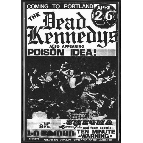Dead Kennedys Coming to Portland Poster Print - The Original Underground / theoriginalunderground.com