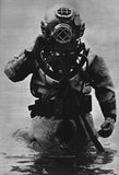 Deep Sea Diver Vintage Photo Print