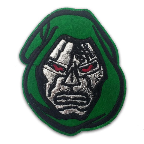 Doctor Doom Embroidered Patch - Falstaff Trading