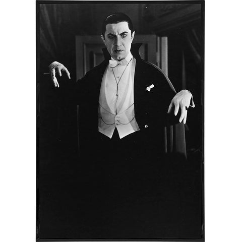 Bela Lugosi as Dracula Photo Print - Falstaff Trading / Nerd culture, Horror, B-movies, cult classic - uniquely cool / falstafftrading.com