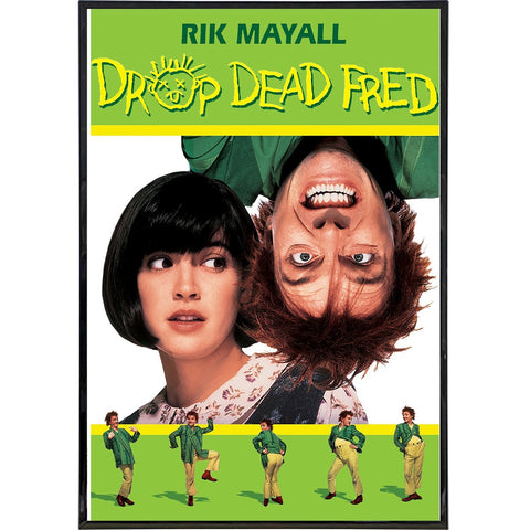 Drop Dead Fred Film Poster Print