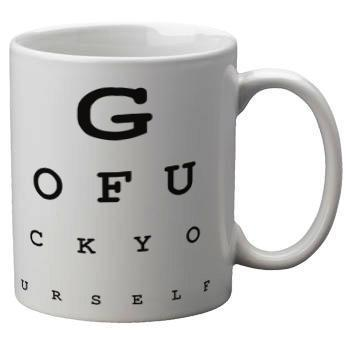 Eye Exam Mug - Falstaff Trading