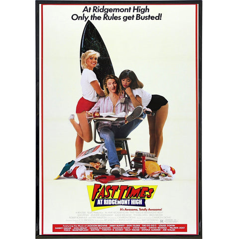 Fast Times at Ridgemont High Film Poster Print