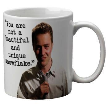 "Fight Club ""Not A Snowflake"" Mug - Falstaff Trading"