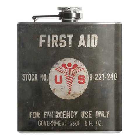First Aid Flask - Falstaff Trading