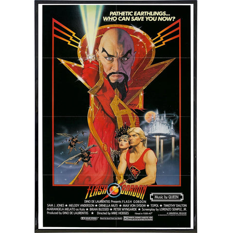 Flash Gordon Film Poster Print