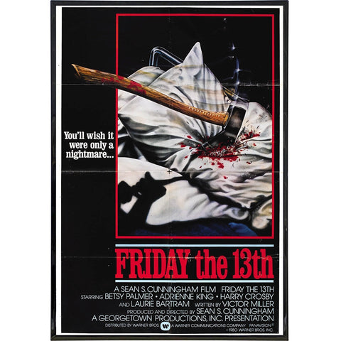 Friday the 13th Film Poster Print
