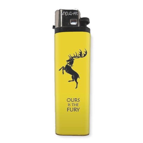 House Baratheon Game Of Thrones Lighter - Falstaff Trading