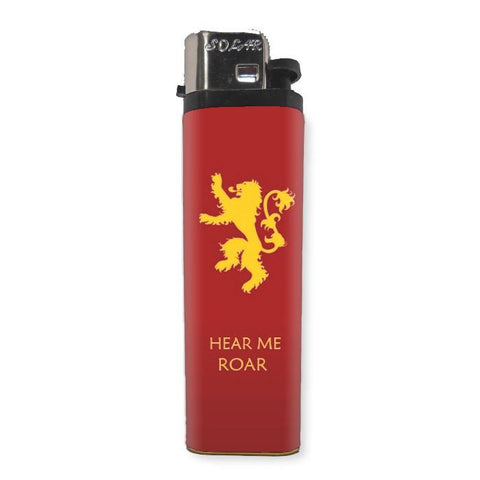 House Lannister Game Of Thrones Lighter - Falstaff Trading