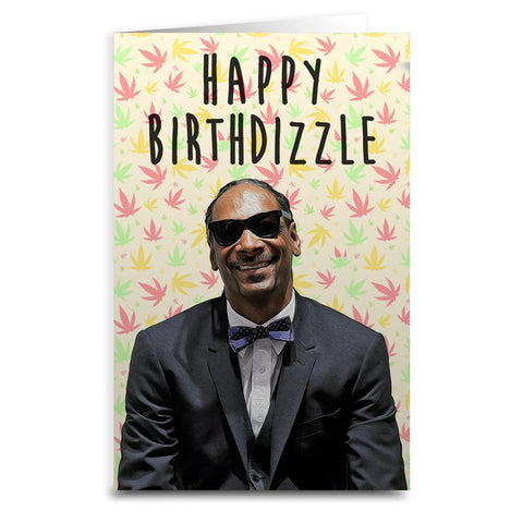 "Snoop Dog ""Happy Birthdizzle"" Card - Falstaff Trading"