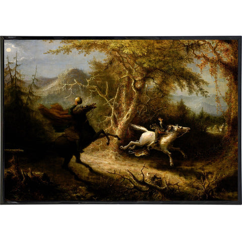 The Headless Horseman in Pursuit Print