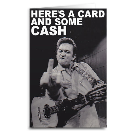 Johnny Cash Card - Falstaff Trading