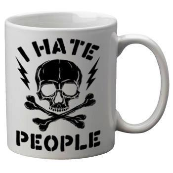 I Hate People Mug - Falstaff Trading