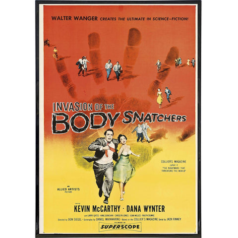 Invasion of the Body Snatchers Film Poster Print