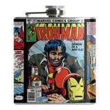 Iron Man Flask - Falstaff Trading