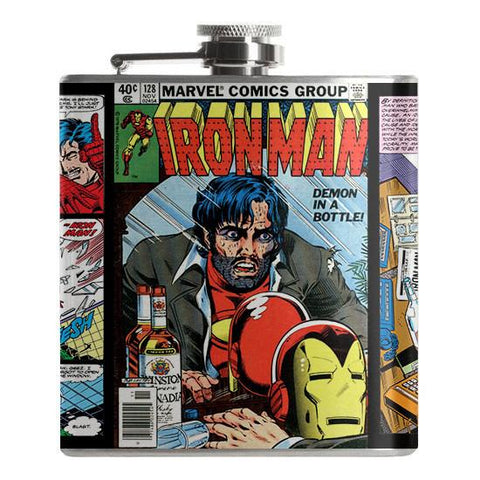Iron Man Demon in a Bottle Flask