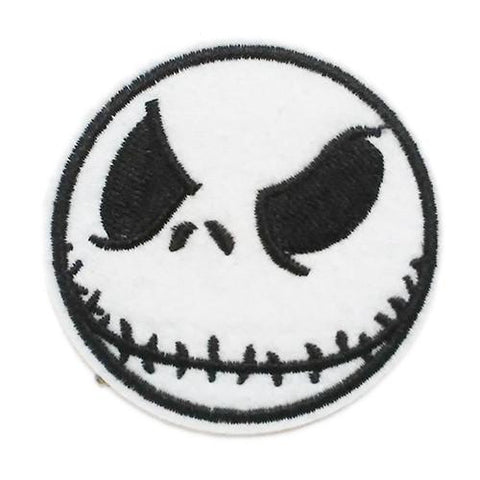 Jack Skellington Embroidered Patch - Falstaff Trading