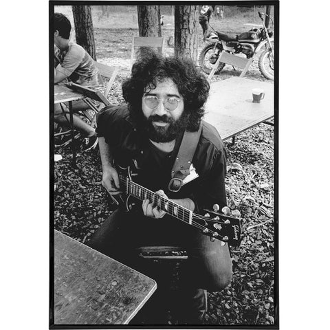 Jerry Garcia Photo Print - The Original Underground