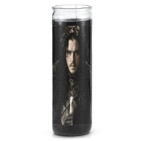 Jon Snow Prayer Candle - Falstaff Trading