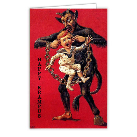Krampus Has Your Ears Greeting Card