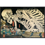 Takiyasha the Witch and the Skeleton Spectre Print
