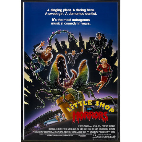 Little Shop of Horrors Film Poster Print