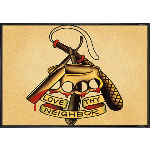 Love Thy Neighbor Flash Print