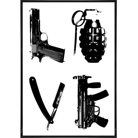 Weapons of Love Print