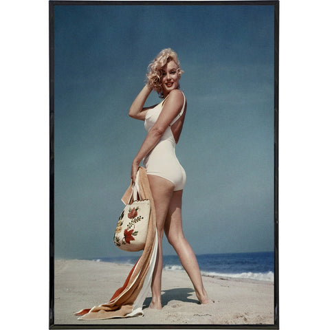 Marilyn Monroe on the Beach Photo Print