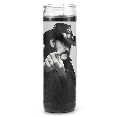 Motorhead Lemmy Prayer Candle - Falstaff Trading