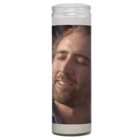 Nick Cage Prayer Candle - Falstaff Trading