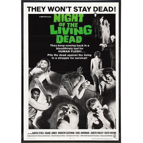 Night of the Living Dead Film Poster Print
