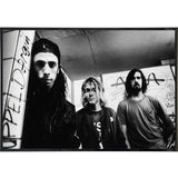 Nirvana Band Photo Print