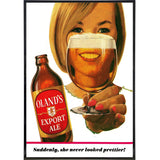 Olands Beer Vintage Advertising Print