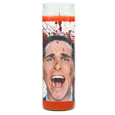 American Psycho Prayer Candle - Falstaff Trading