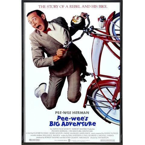Pee Wee's Big Adventure Film Poster Print