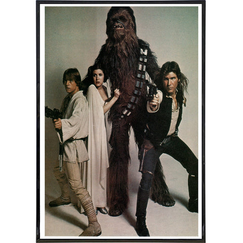 Star War Cast Photo Print