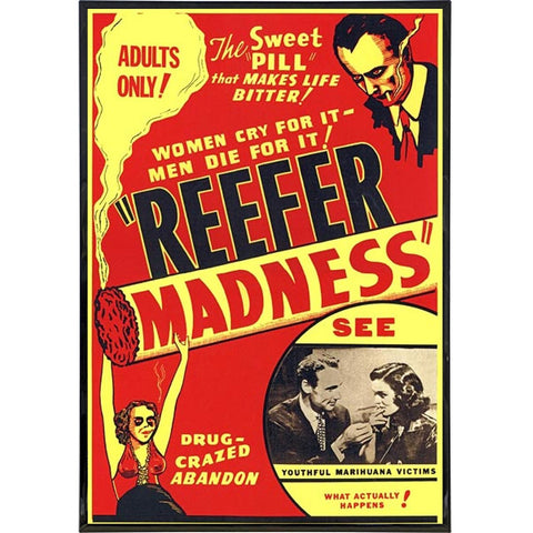 Reefer Madness Film Poster Print