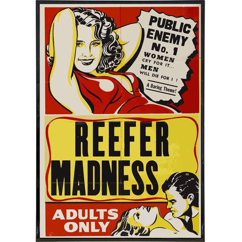 Reefer Madness: Public Enemy Film Poster Print