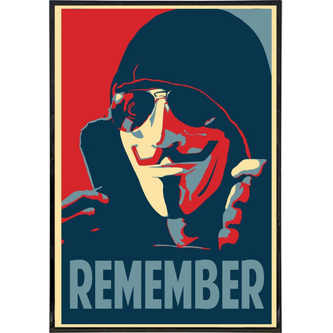 "Guy Fawkes ""Remember"" Print"