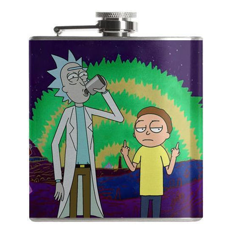 Rick and Morty Flask - Falstaff Trading