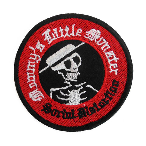 "Social D ""Mommy's Little Monster"" Embroidered Patch - Falstaff Trading"