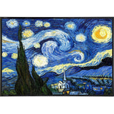 """Starry Night"" by Van Gogh Print - Falstaff Trading / Nerd culture, Horror, B-movies, cult classic - uniquely cool / falstafftrading.com"