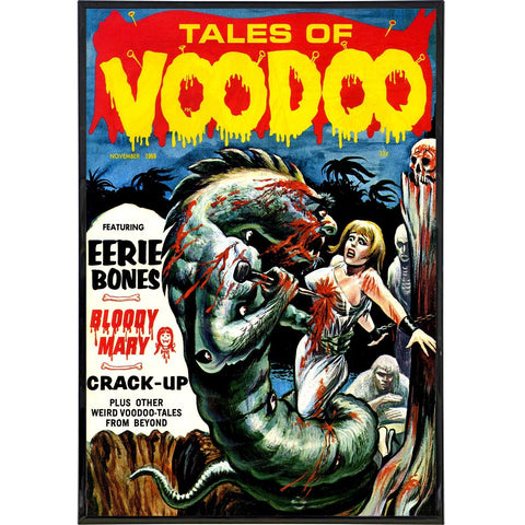 Tales of Voodoo Cover Print