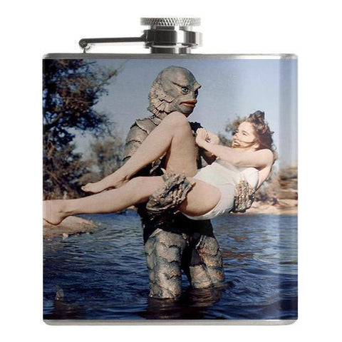 The Creature from the Black Lagoon Flask - Falstaff Trading