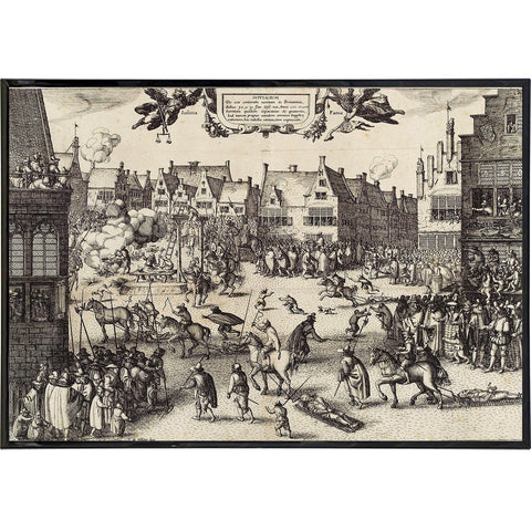 The Execution of Guy Fawkes Print