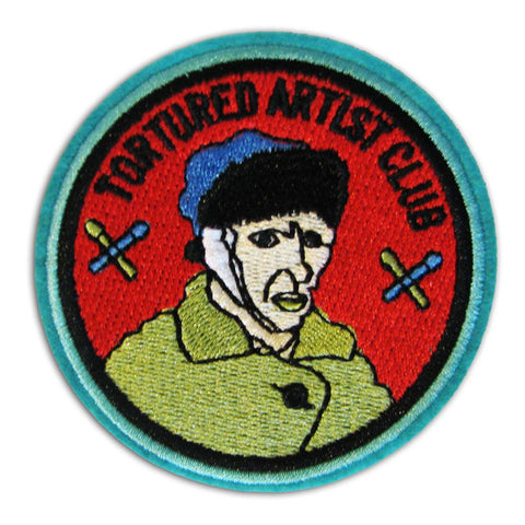 Tortured Artist Club Embroidered Patch - Falstaff Trading